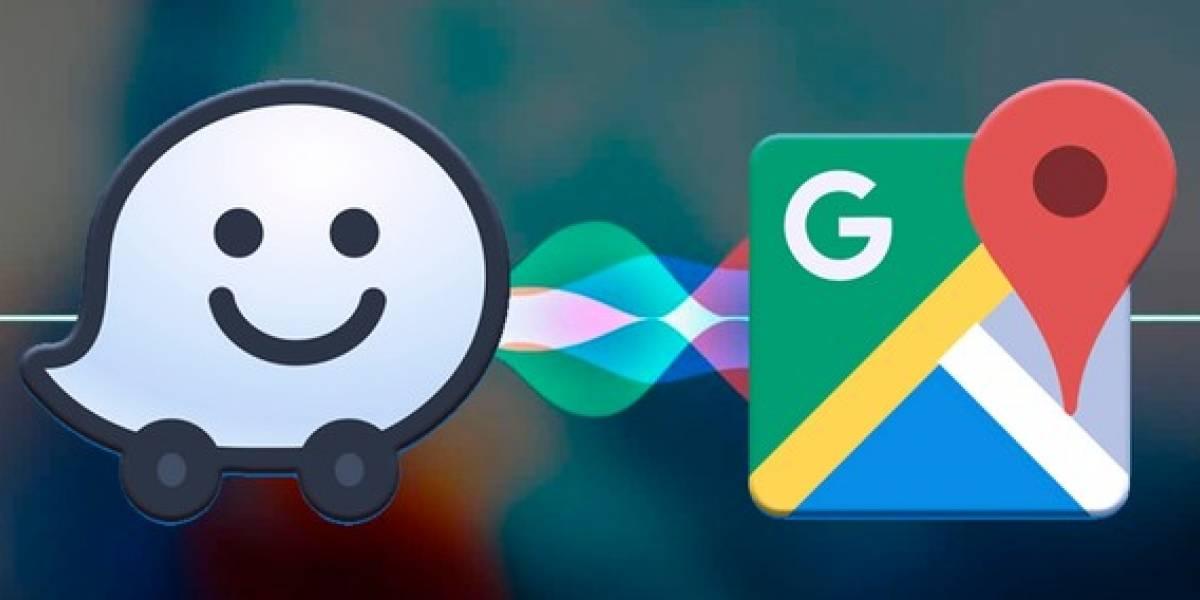 'Siri' funcionará con Google Maps y Waze para mejorar la geolocalización de sus usuarios