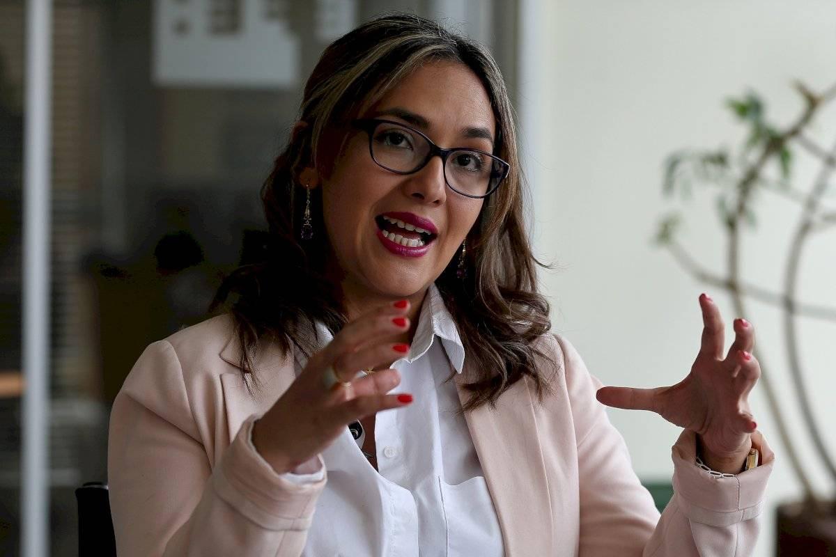 María Sol Borja, portavoz del libro del asesinato de periodistas de El Comercio EFE