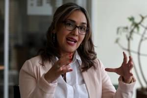 María Sol Borja, portavoz del libro del asesinato de periodistas de El Comercio