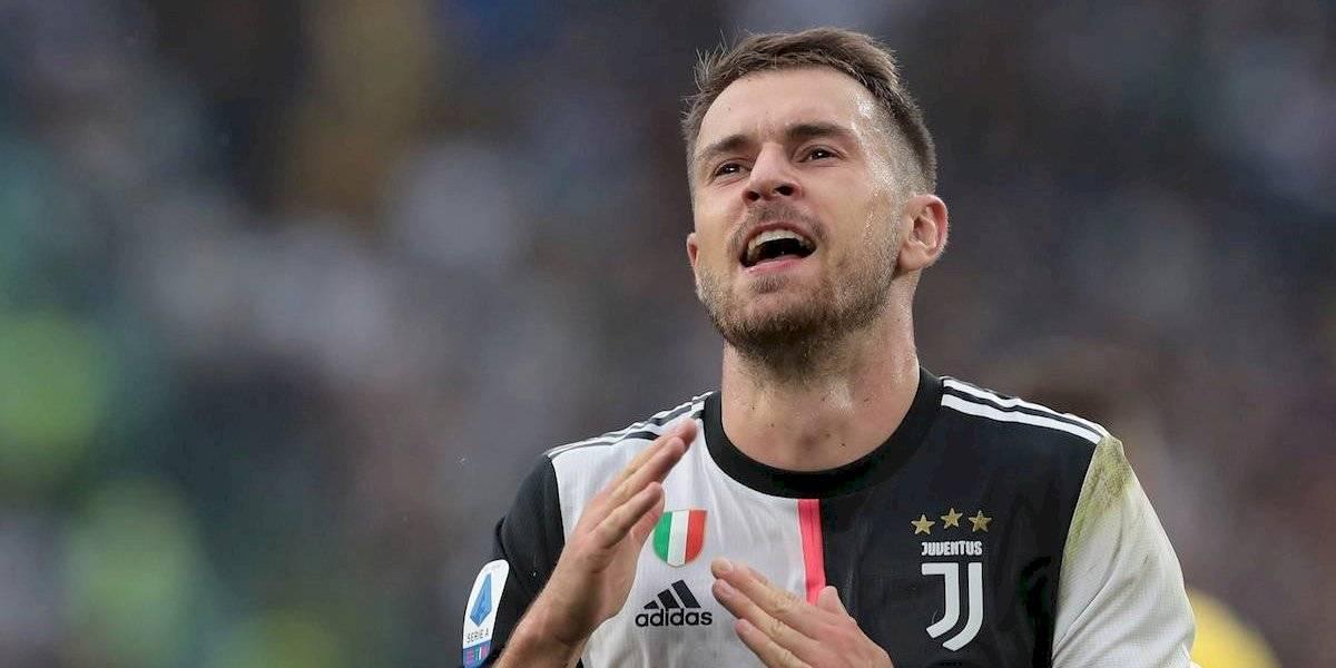 ¡Atención famosos! Aaron Ramsey anotó con la Juventus
