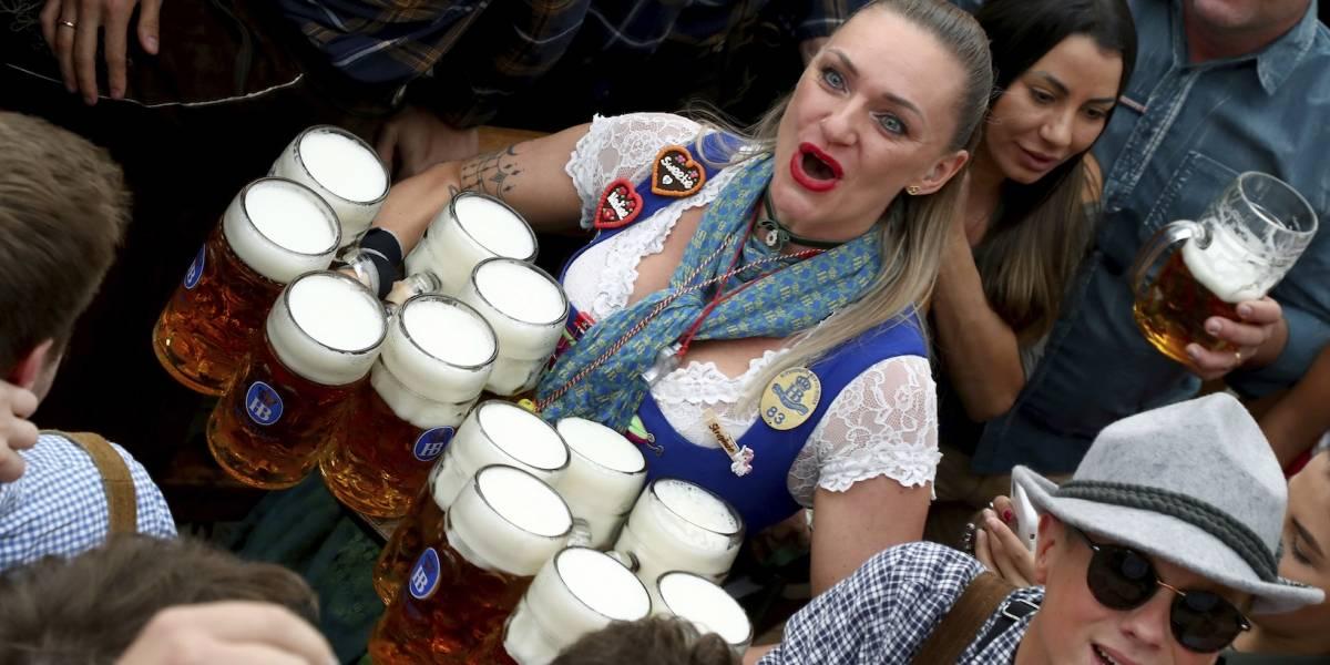 Inicia el Oktoberfest, el festival de cerveza más grande del mundo