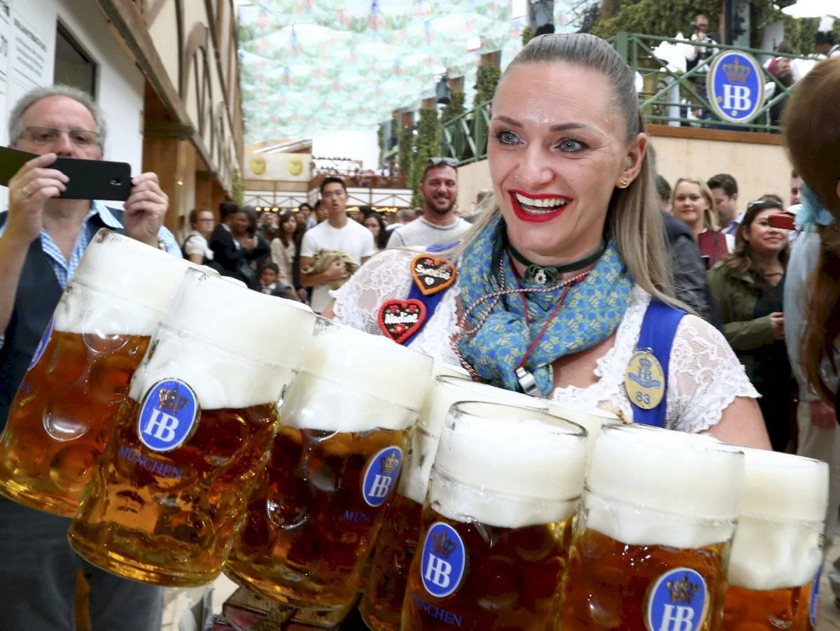 La 186 edición de la Oktoberfest abría sus puertas y decenas de miles de aficionados a esta fiesta