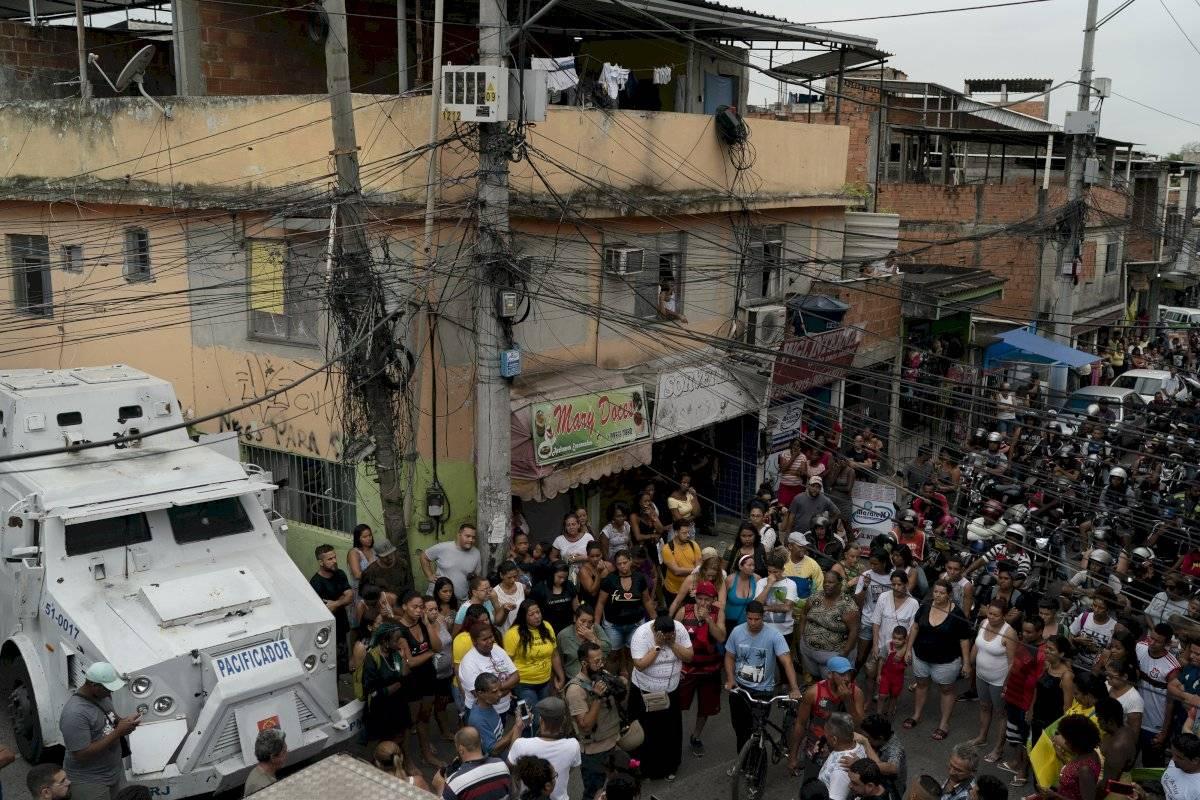 Muerte niña 8 años, Río de Janeiro