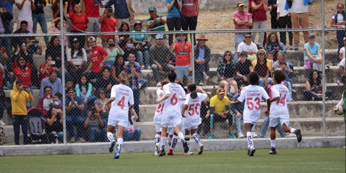 Ñañas vs Deportivo Cuenca: Las 'Leonas' con el 2-1, acarician la Copa del torneo femenino.