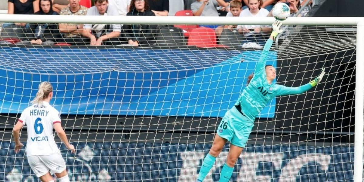 La gran jornada de Christiane Endler no le alcanzó al PSG y perdió la primera final del fútbol francés