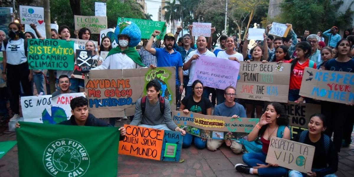 Cientos de colombianos se suman al grito mundial por el clima