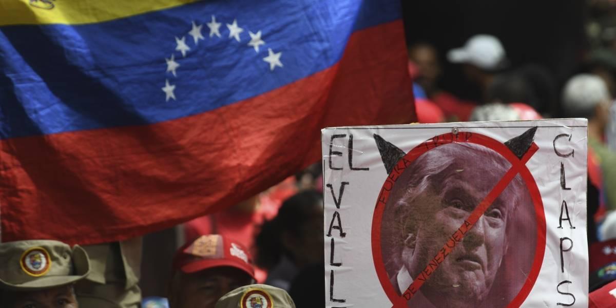 """Venezuela reúne más de 13 millones de firmas en campaña """"No más Trump"""""""