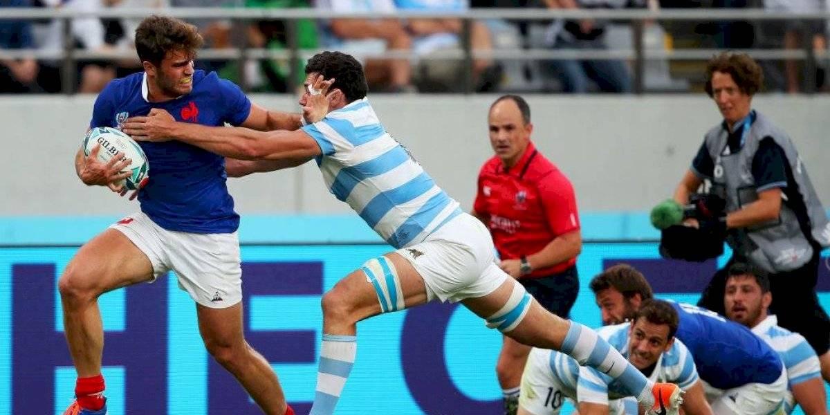 Argentina pierde con lo justo ante Francia en su debut en el Mundial de Rugby 2019