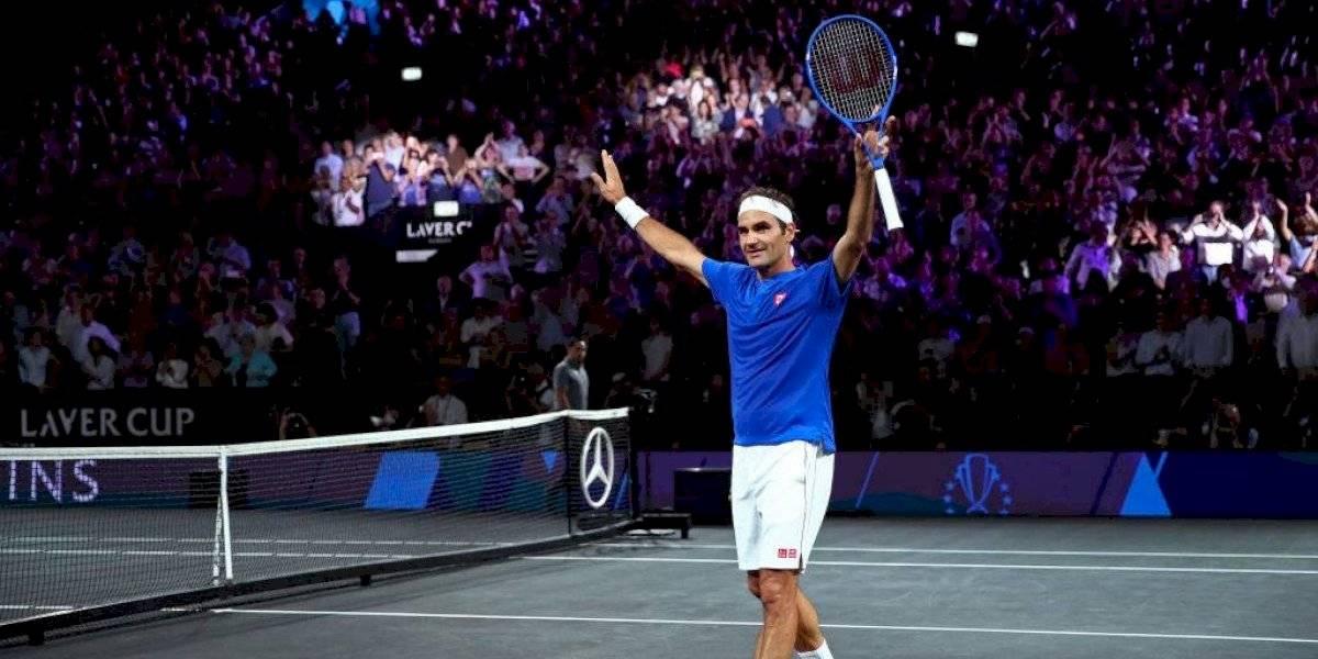 Federer le da vuelta el partido a Nick Kyrgios con los consejos de Nadal y deja a Europa en ventaja en la Laver Cup
