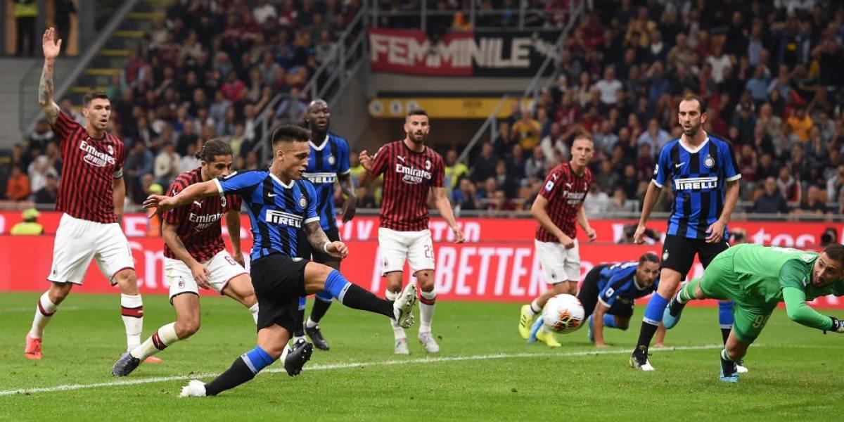 Así vivimos el clásico entre Inter y Milan donde Alexis Sánchez se quedó en la banca