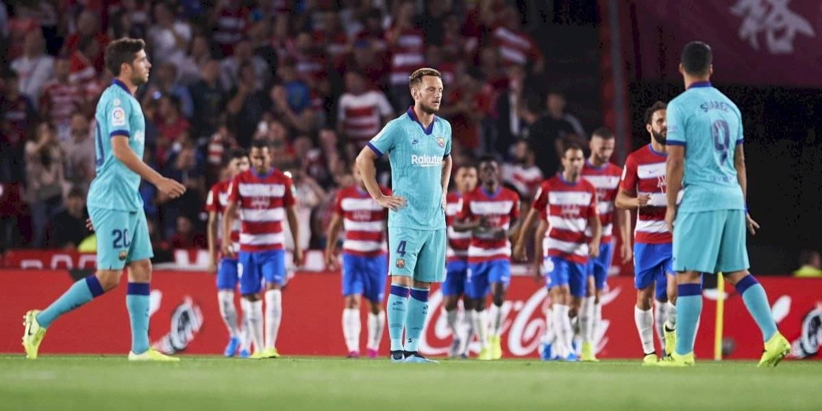 ¡Sorpresa! El Granada derrota a un gris Barcelona