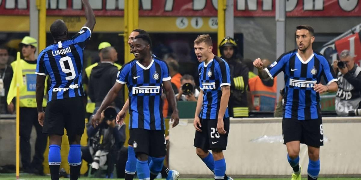 Inter se impuso con categoría en el derby a Milan y Alexis ni siquiera sumó minutos
