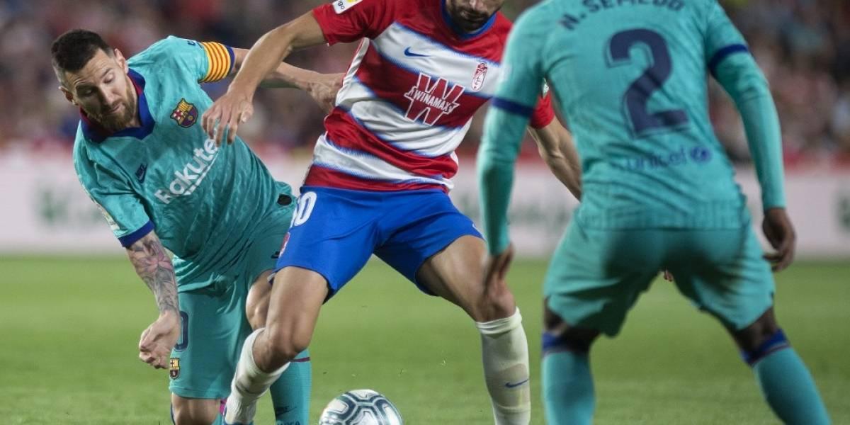 FOTOS. Granada tumba al campeón de la liga española en el retorno de Messi