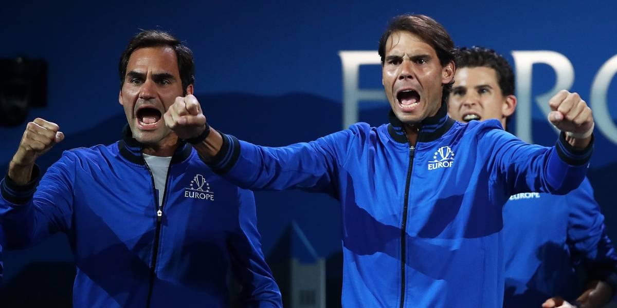 Federer y Nadal siguen dando cátedra en la Laver Cup
