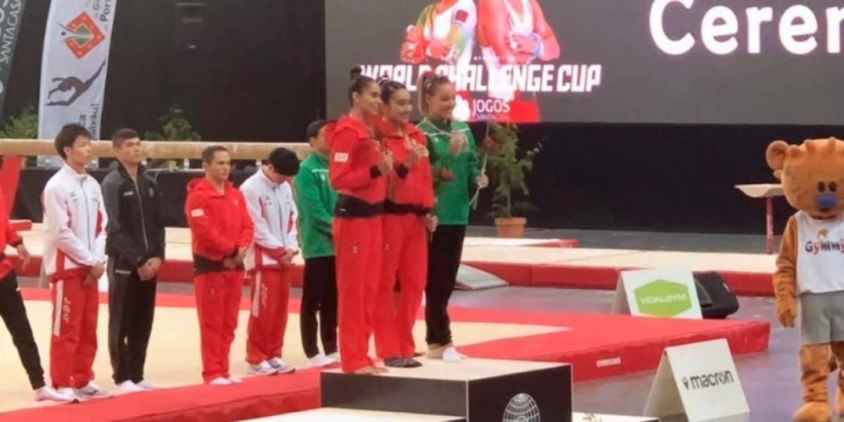 Mexicanos se cuelgan medallas en Mundial de Gimnasia