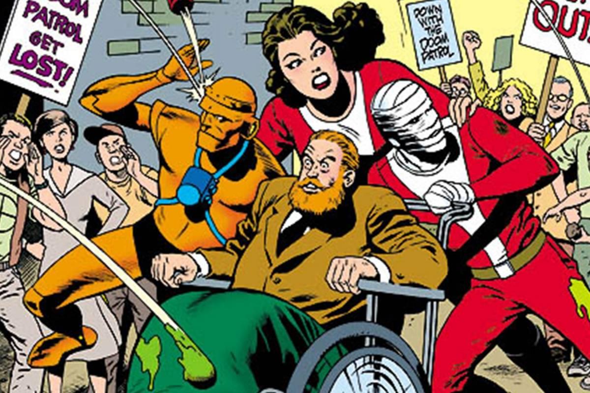 DC Comics reemplazo a un actor mexicano en Doom Patrol