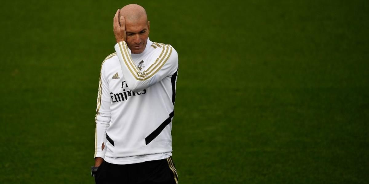 Zinedine Zidane habló sobre su actual situación en el Real Madrid