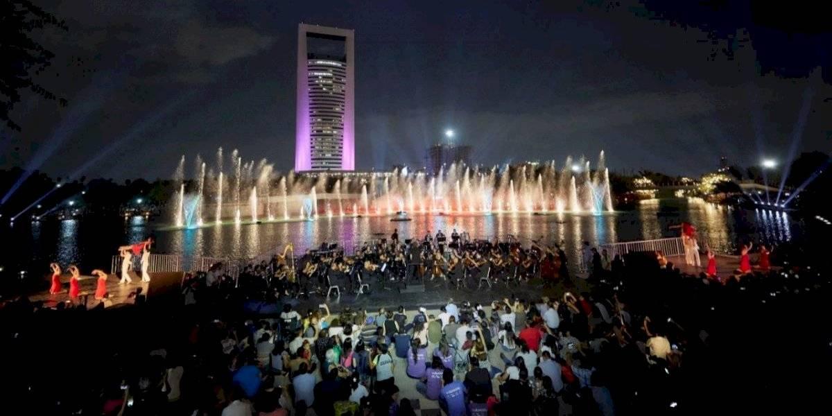 El Festival Internacional Santa Lucía desborda magia