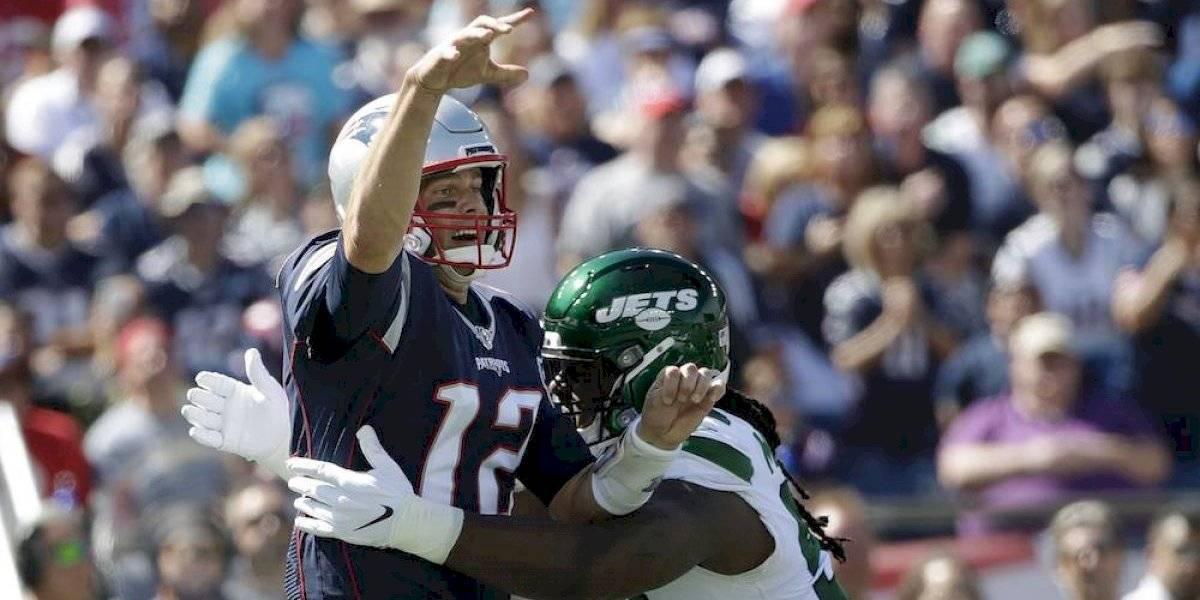 Defensiva y Brady brillan en triunfo de los Patriots