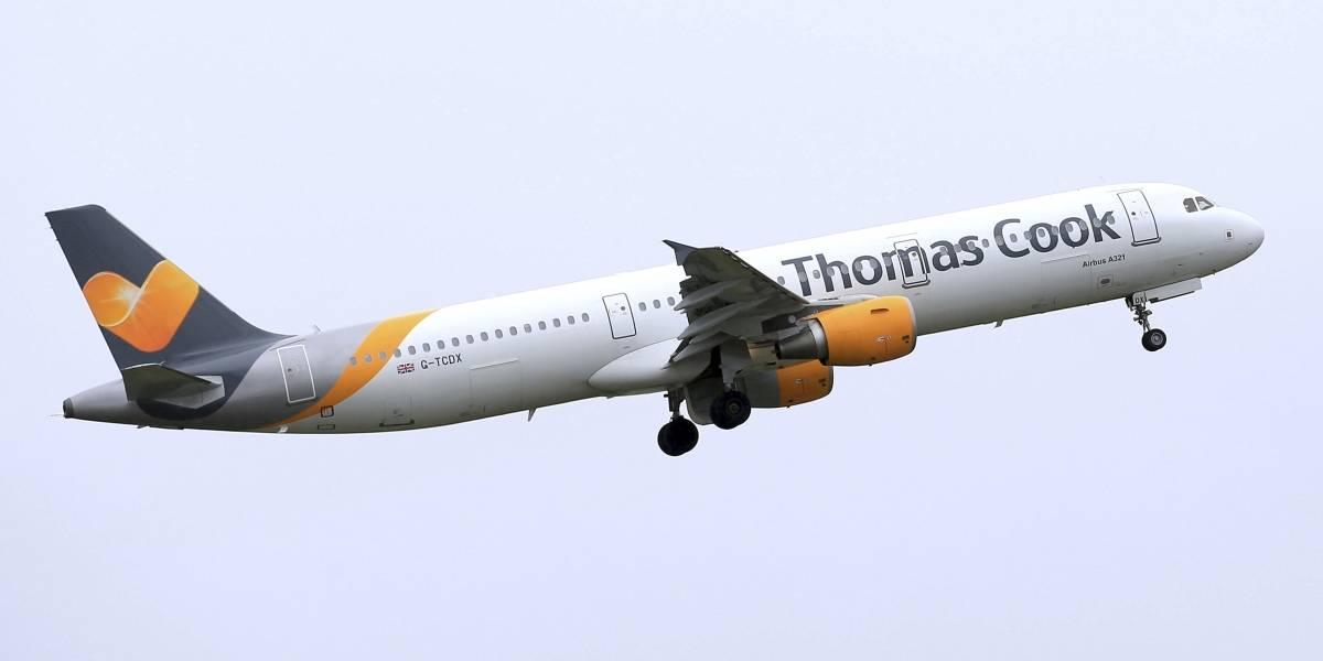 Aerolínea Thomas Cook se declara en quiebra y deja varados a miles