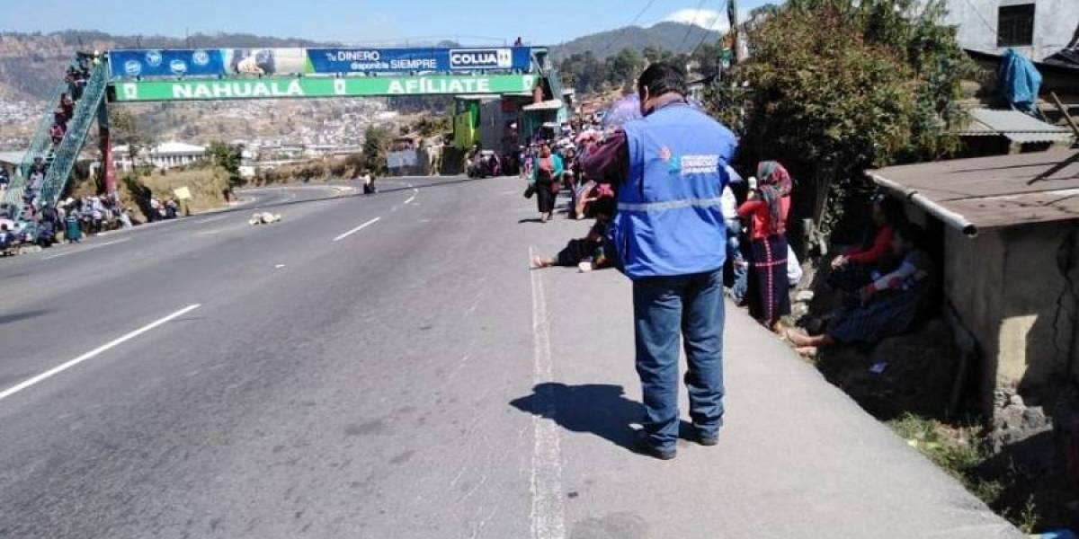 Autoridades indígenas de Sololá se oponen a estado de Sitio