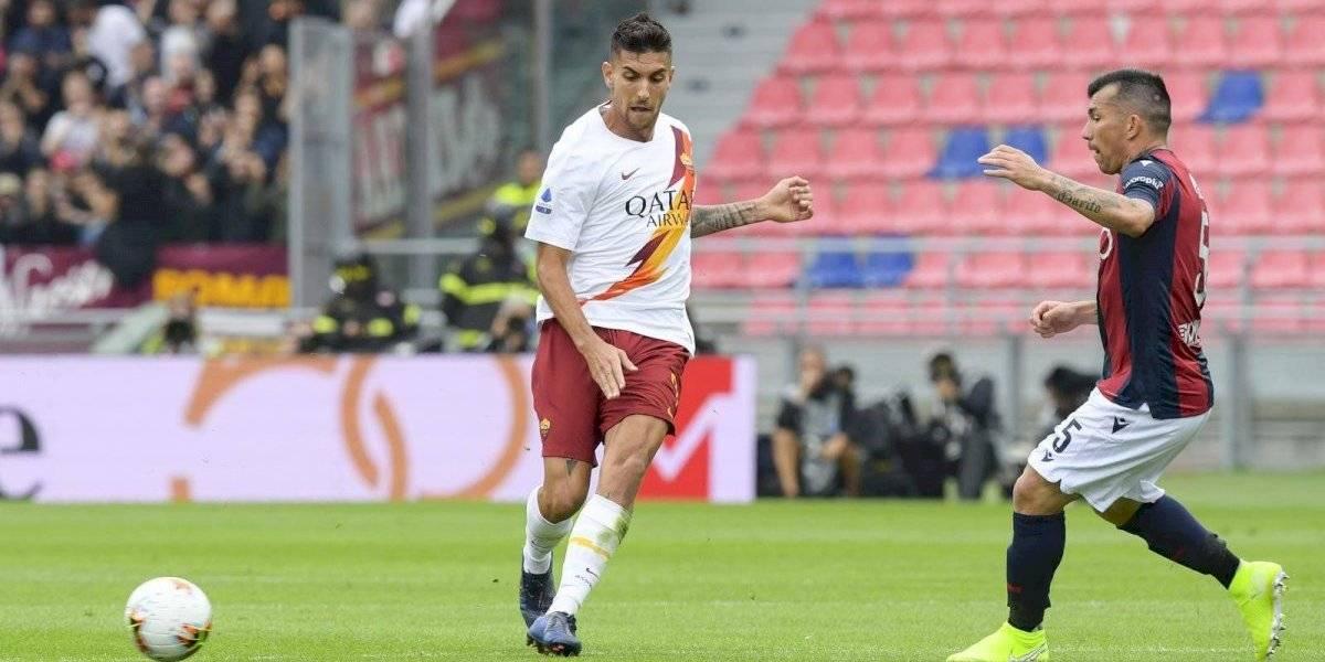 Bologna de Gary Medel frenó su buena racha en la Serie A tras agónica caída ante Roma