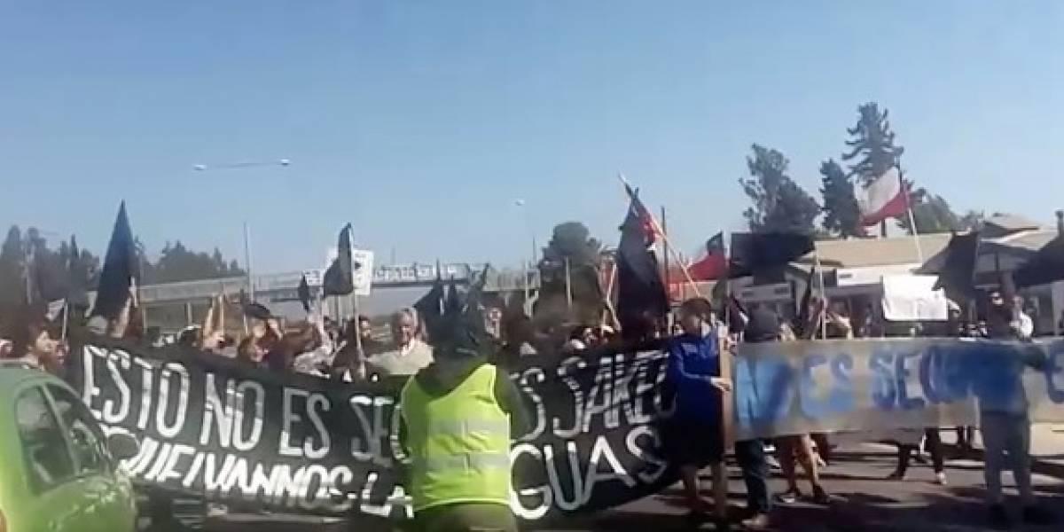 Manifestación de crianceros y agricultores en Ruta 5 norte dificultó regreso de los turistas tras Fiestas Patrias