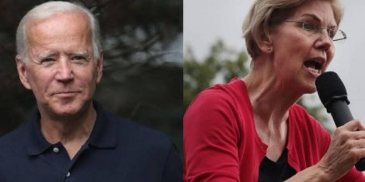 Warren adelanta a Biden en la carrera presidencial demócrata según encuesta