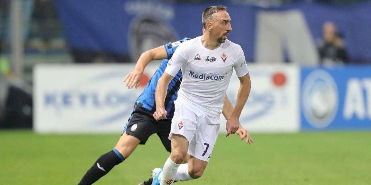 Fiorentina con Erick Pulgar y Frank Ribéry sufrió una remontada de último minuto y sigue última en Serie A