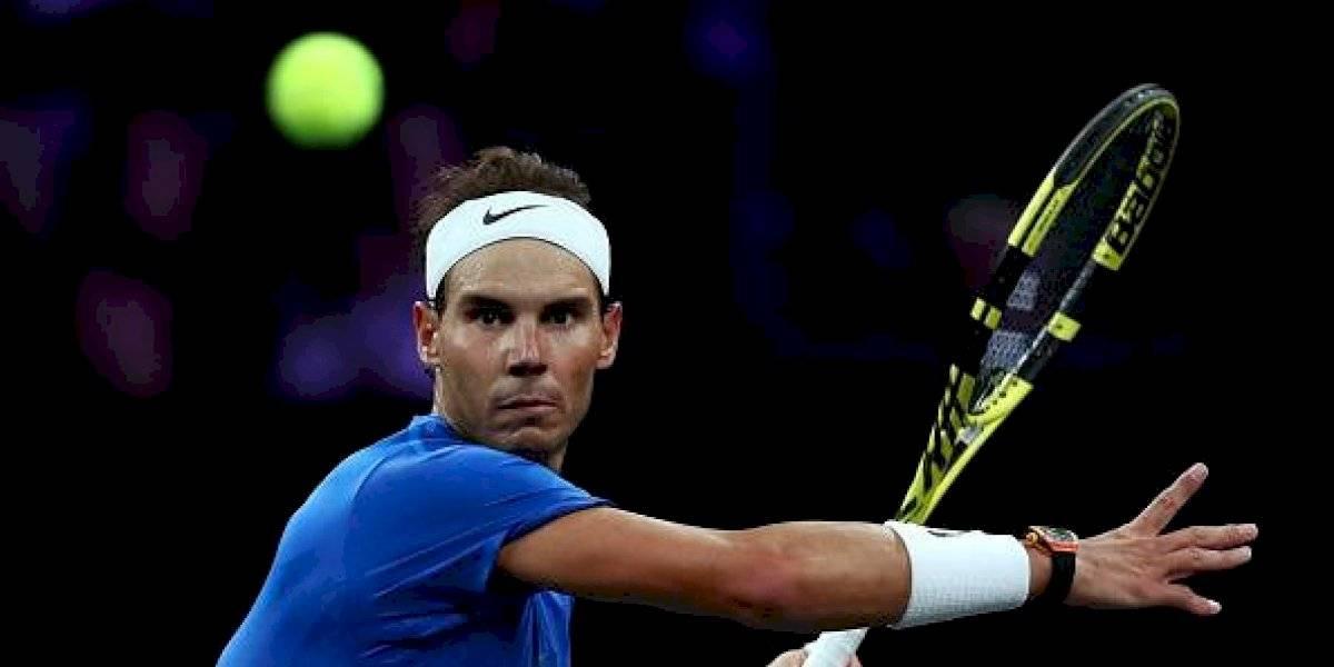 Laver Cup: Rafael Nadal se retira del torneo por lesión