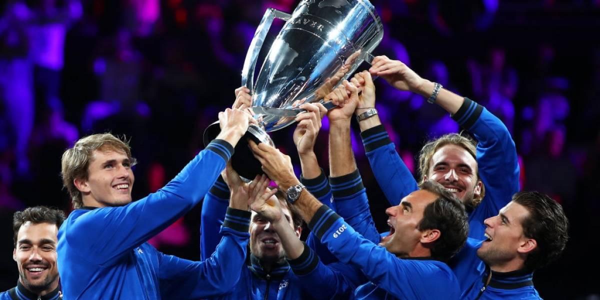 El Team Europa sigue dominando el tenis al conquistar la Laver Cup ante el Resto del Mundo
