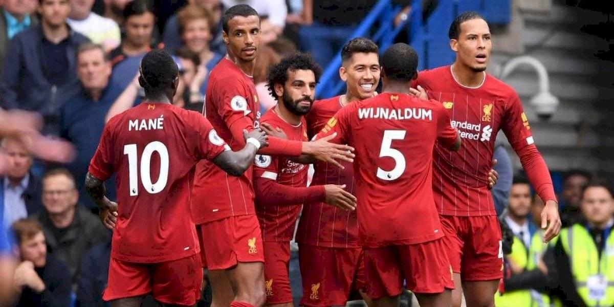 Liverpool les gana a todos y estira su invicto en la Premier con un sufrido triunfo ante Chelsea