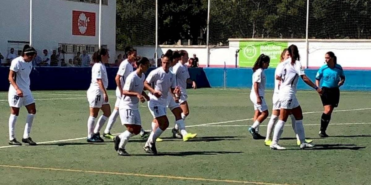 Los goles llegaron desde el banco: Bárbara Santibáñez metió un triplete por el Granada en la 2ª división de España