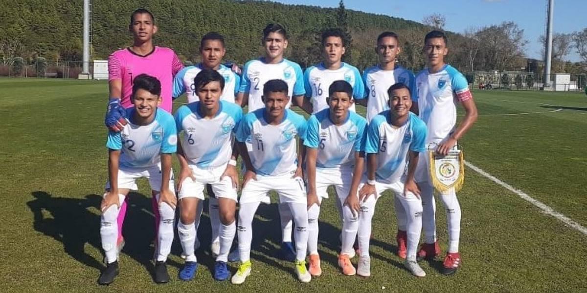 FOTOS. Así le fue a Guatemala Sub 17 en su debut en el torneo de UEFA