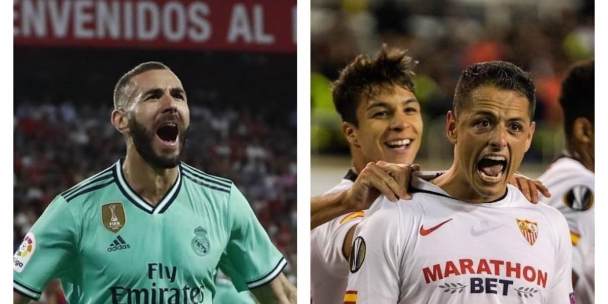 """Así fue el gol anulado al mexicano """"Chicharito"""" Hernández"""