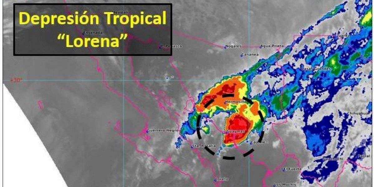 Alerta en Sonora por impacto de Lorena