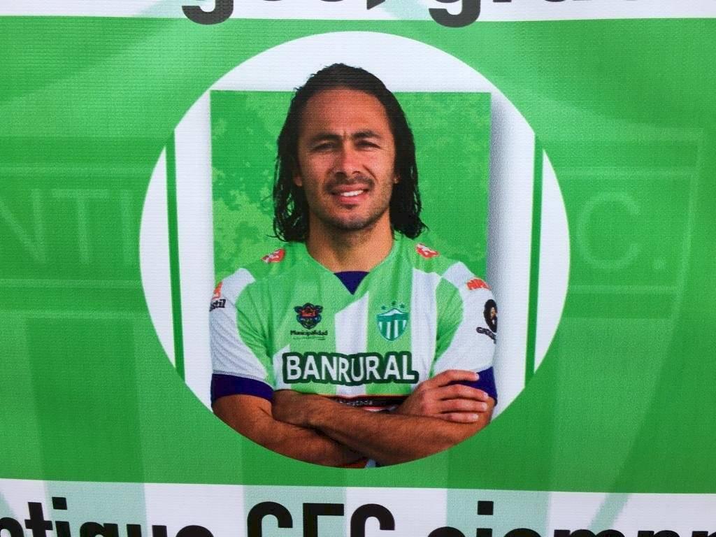 Foto Omar Solís | Agustín Herrera fue goleador en Antigua GFC cuando el equipo ganó títulos