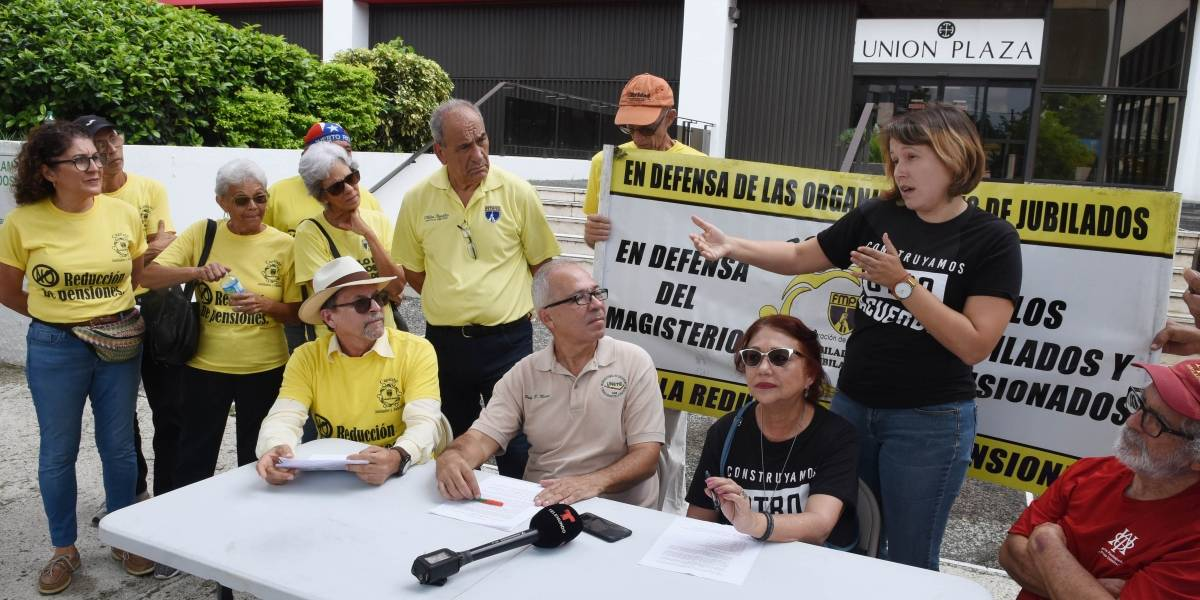 Pensionados exigen al COR que acoja propuestas que han presentado