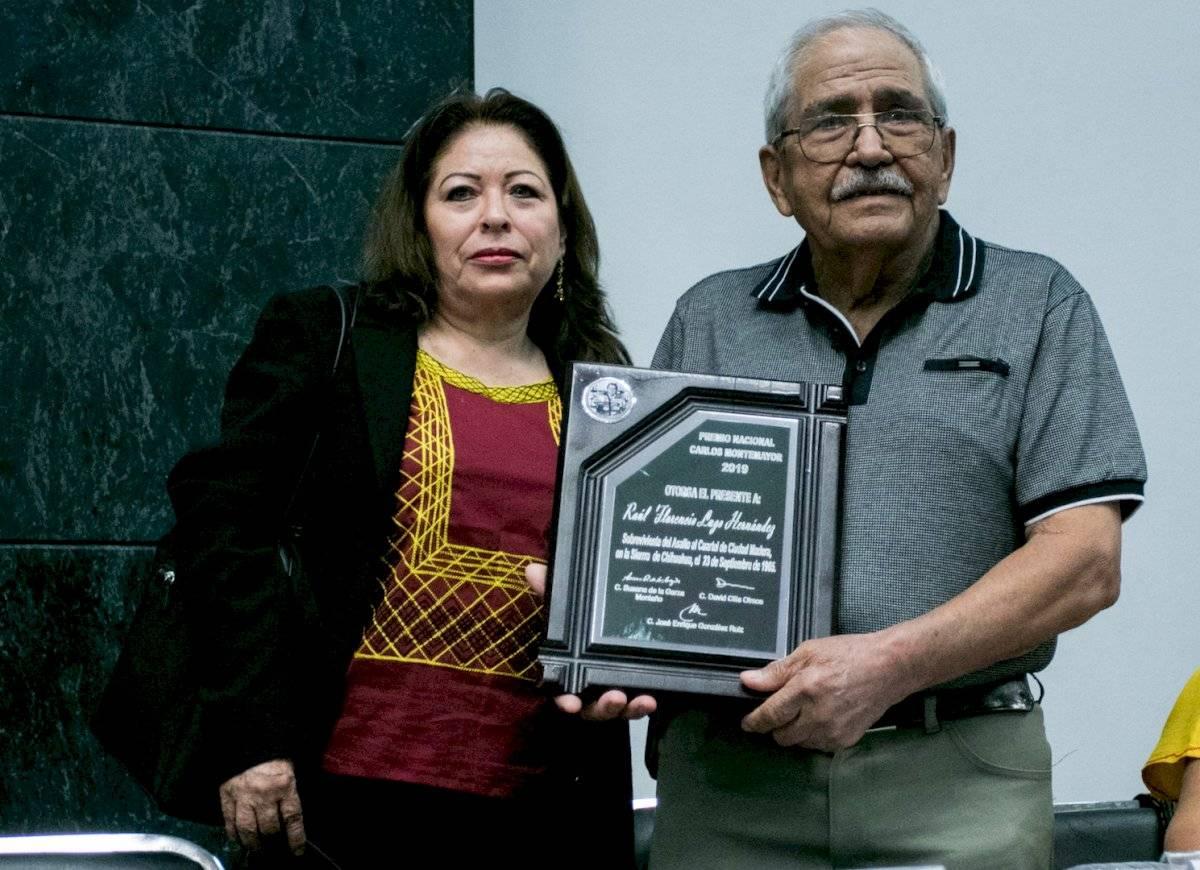 Florencio Lugo Hernández, sobreviviente del asalto al cuartel militar de Ciudad Madera