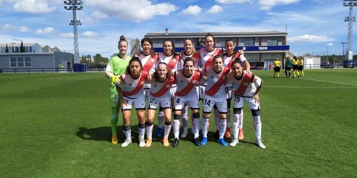 Con Guerrero y Sáez como titular Rayo Vallecano obtuvo su primera victoria en la Liga Española Femenina