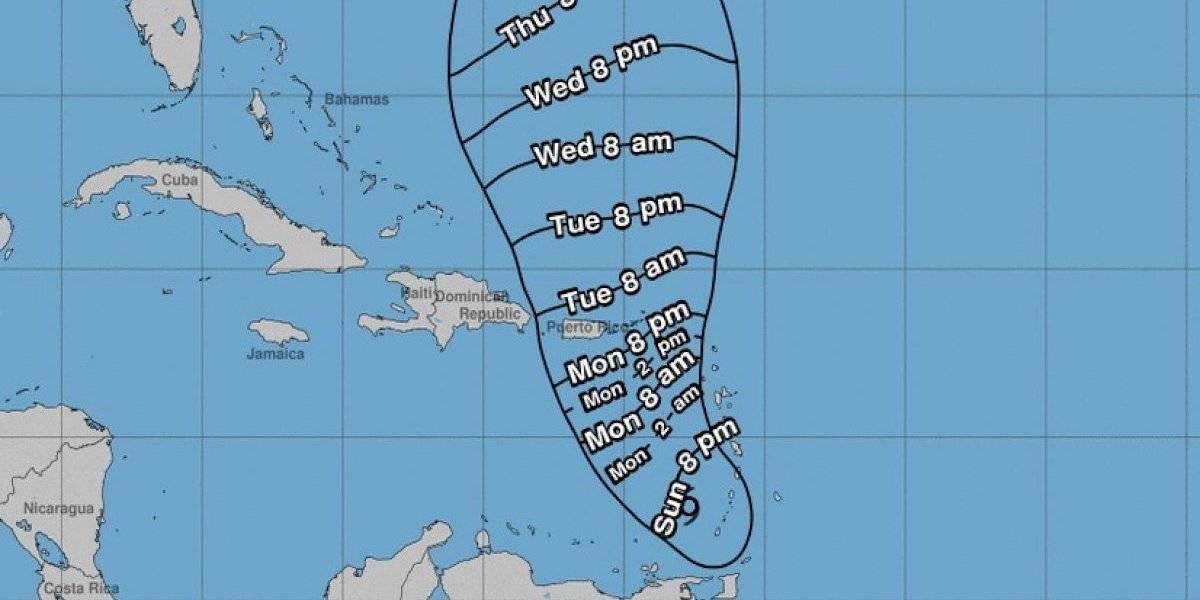 Tormenta tropical Karen sigue perdiendo organización en su estructura
