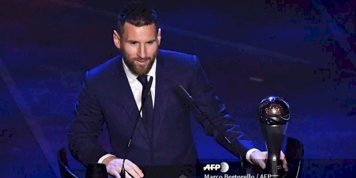 Ante todos los pronósticos Lionel Messi gana el premio The Best