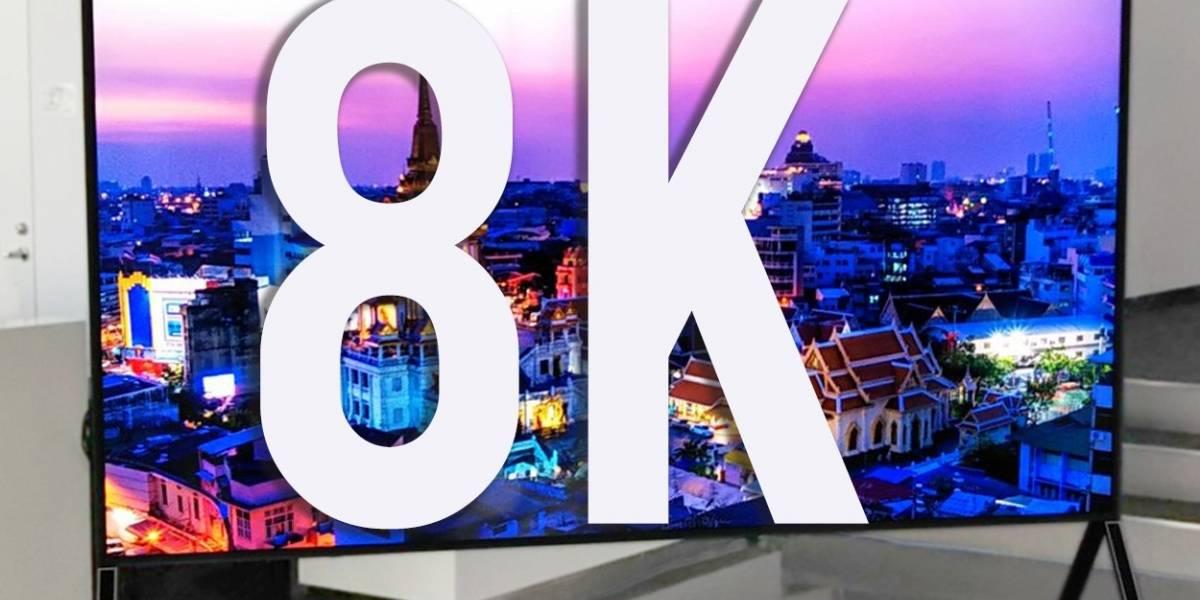 El futuro está aquí: industria fija estándar oficial para televisores 8K