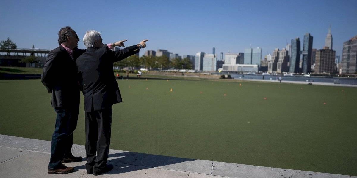 En el marco de la Asamblea General de las Naciones Unidas Piñera promete plantar un árbol por cada Chileno