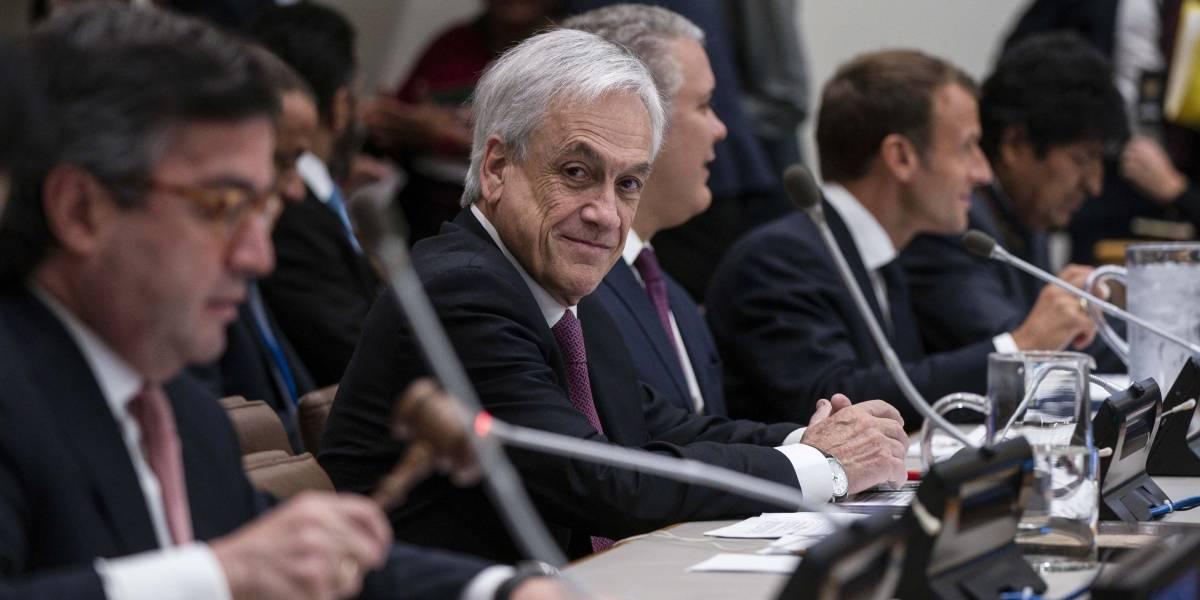 """""""Nos sigue fallando"""": organizaciones ambientales critican a Piñera y lamentan su discurso en la ONU"""