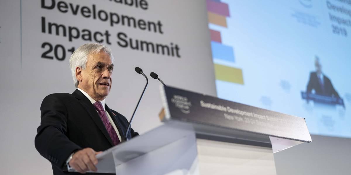 "Presidente Piñera pide a Trump y Xi que ""terminen esta absurda guerra"" comercial"