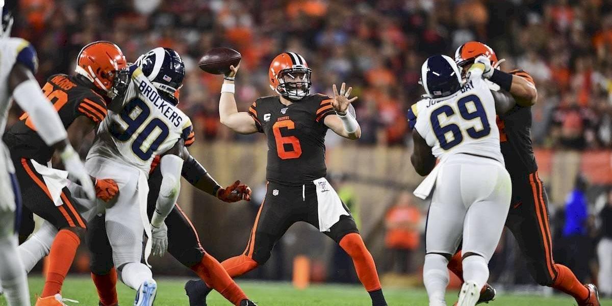Los Rams derrotan a unos Browns que sufren bastante a la ofensiva
