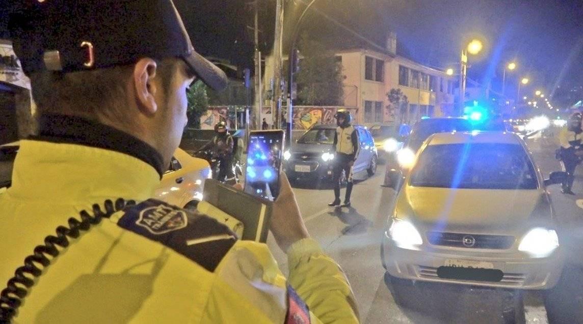 Operativo en Quito: 59 conductores fueron detenidos por conducir en estado de ebriedad AMT