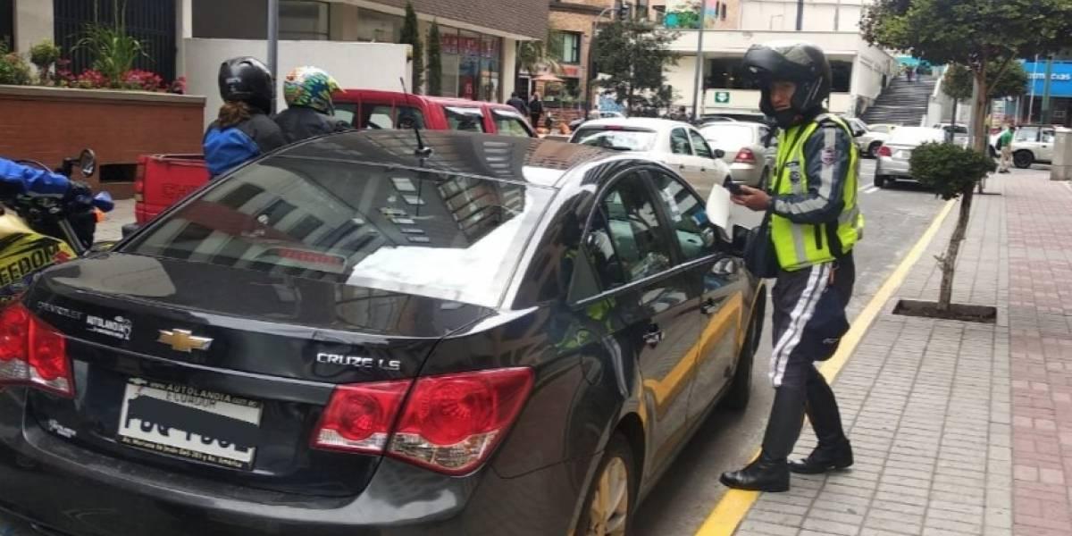 Quito: Manejar sin licencia fue la sanción más recurrente en 2019