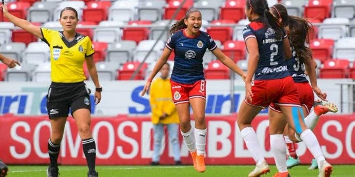 Chivas femenil vence como visitante al Toluca por 2-1